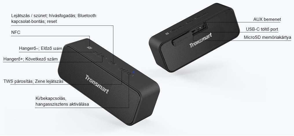 tronsmart element mega t2 plus t19